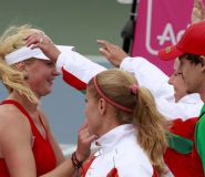 Женская сборная Беларуси по теннису поднялась на 13-е место в мировом рейтинге