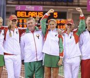 Белорусы проходят во вторую мировую группу Кубка Федераций