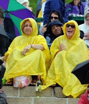 Уимблдон. Все матчи прерваны изза дождя