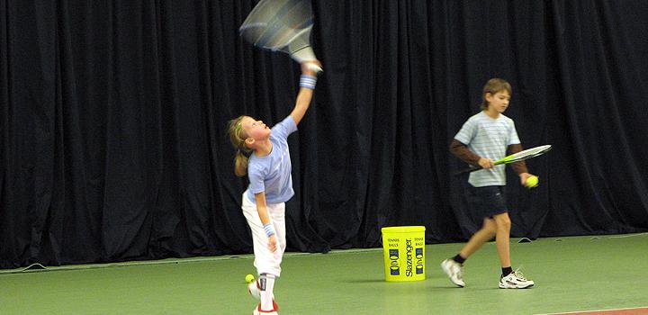 Обучение теннису детей и взрослых
